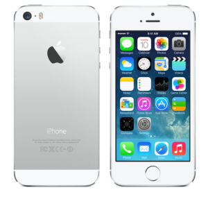 iPhone 5s Colors - Sil...