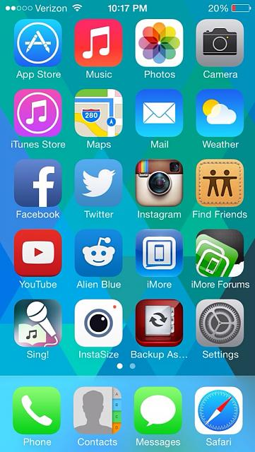 how to go to home screen from phone calls