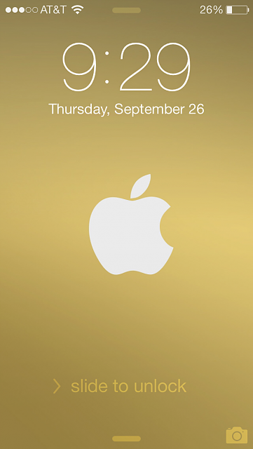 show us your iphone 5s lock screen page 2 iphone