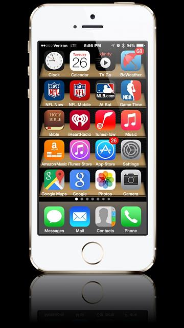 Show us your iPhone 5S Homescreen:-imageuploadedbytapatalk1432688693.932376.jpg