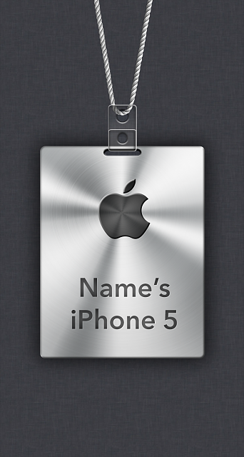 iPhone 5/5c/5s Apple Nametag Wallpaper-6.png