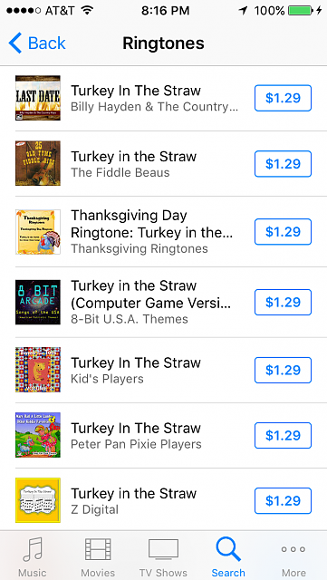 I want to use the song turkey in the straw as my rington on my iPhone 5s, how can I get it?-img_1271.png