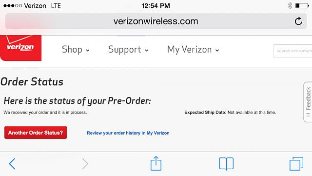 Anyone else who pre-ordered the 6+ through Verizon have this order status?-imageuploadedbyimore-forums1410800205.672727.jpg