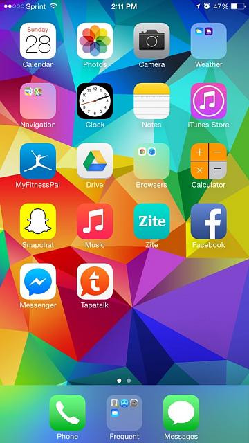 Share your iPhone 6 Plus HomeScreen-imageuploadedbytapatalk1411927925.510013.jpg