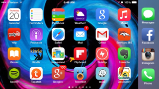Share your iPhone 6 Plus HomeScreen-imageuploadedbytapatalk1416494977.357431.jpg