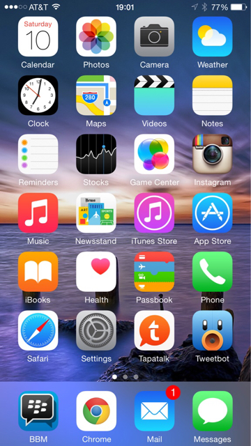 Share your iPhone 6 Plus HomeScreen-imageuploadedbytapatalk1420934550.411426.jpg