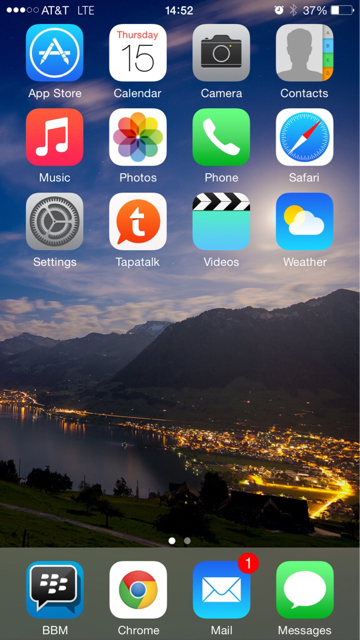 Share your iPhone 6 Plus HomeScreen-imageuploadedbytapatalk1421351727.912757.jpg