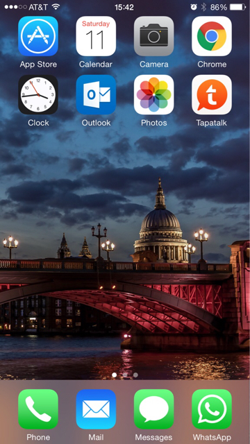 Share your iPhone 6 Plus HomeScreen-imageuploadedbytapatalk1428781760.216014.jpg