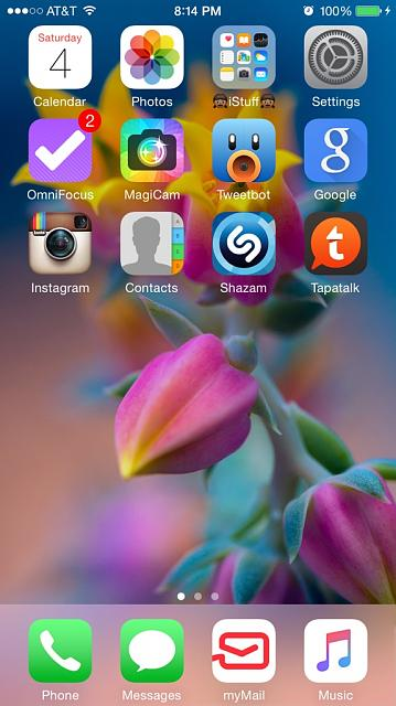 Share your iPhone 6 Plus HomeScreen-imageuploadedbytapatalk1436059018.919476.jpg