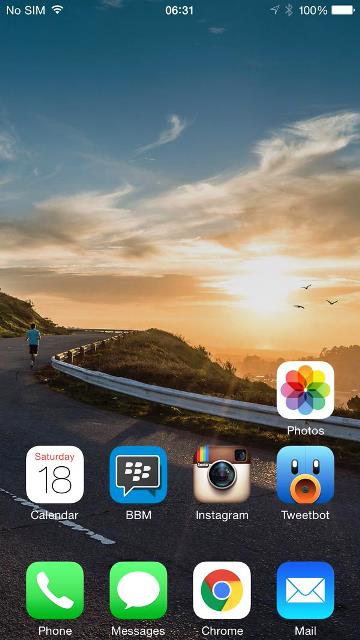 Share your iPhone 6 Plus HomeScreen-myway.jpg