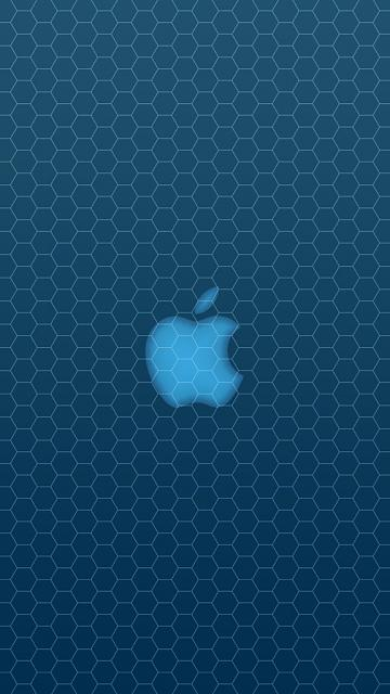 Looking for a new wallpaper or have one to share?-apple-blue-honeycomb.jpg