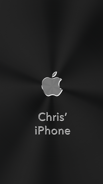 iPhone 6/6s/7 Apple Nametag Wallpaper-5.png