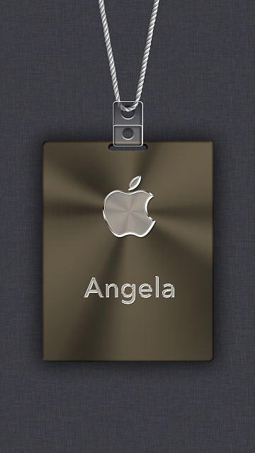 iPhone 6/6s/7/8 Apple Nametag Wallpaper-5.png