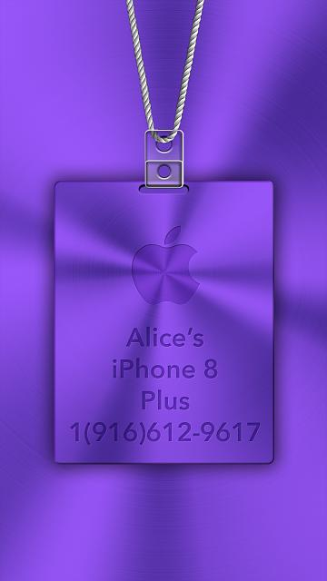 iPhone 6/6s/7/8 Apple Nametag Wallpaper-6.jpg