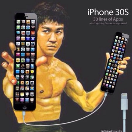 """Grass isn't always greener syndrome""...what if the iphone 6 grows....-imageuploadedbyimore-forums1389991672.691761.jpg"