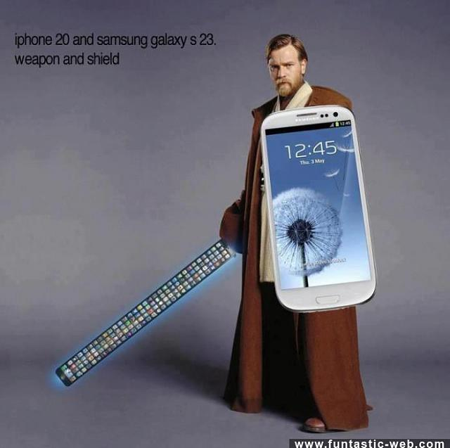 """Grass isn't always greener syndrome""...what if the iphone 6 grows....-imageuploadedbytapatalk1390068733.586441.jpg"