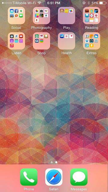 Show Us Your Iphone 6 Homescreen Iphone Ipad Ipod Forums