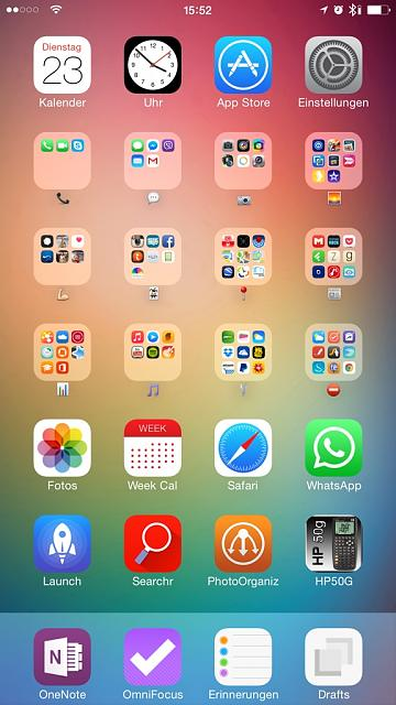Fix My Phone >> Show us your iPhone 6 Homescreen - Page 3 - iPhone, iPad ...
