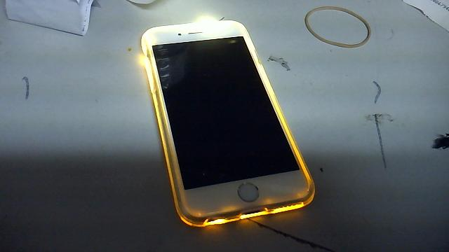 iphone 6 charger and light case