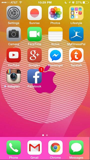 Show us your iPhone 6 Homescreen-imageuploadedbytapatalk1412216996.614216.jpg