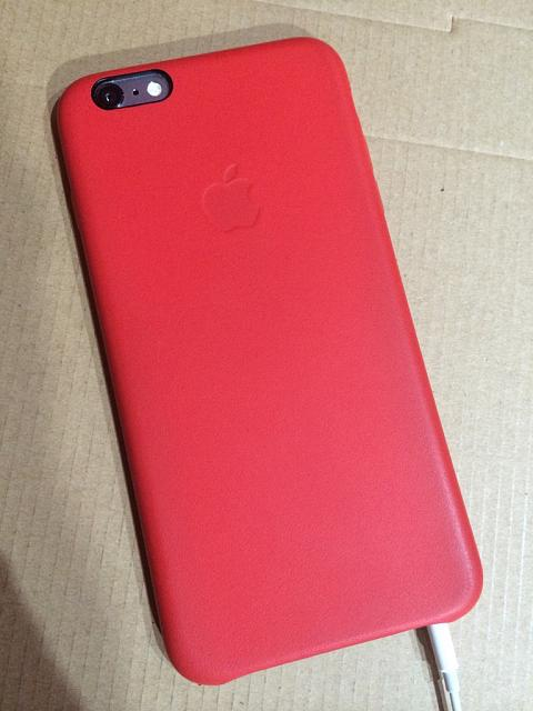 wholesale dealer 74217 b430f iPhone 6 Apple Leather Case - iPhone, iPad, iPod Forums at iMore.com