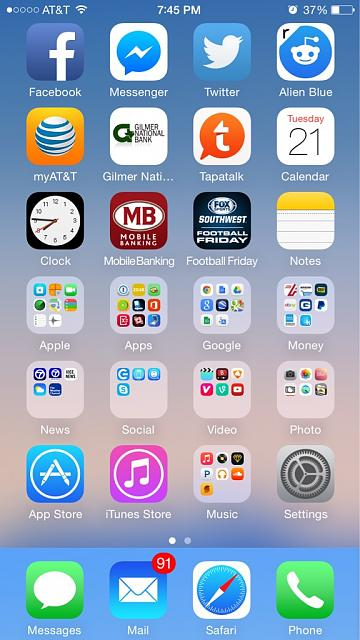 iphone 6 home screen show us your iphone 6 homescreen page 10 iphone 14983