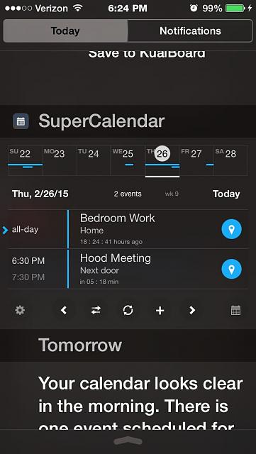 Calendar Lockscreen : Calendar events on lock screen iphone ipad ipod forums