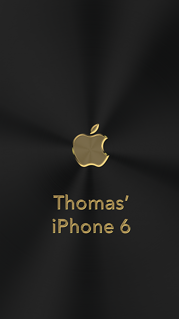 iPhone 6/6s/7/8 Apple Nametag Wallpaper-4.png