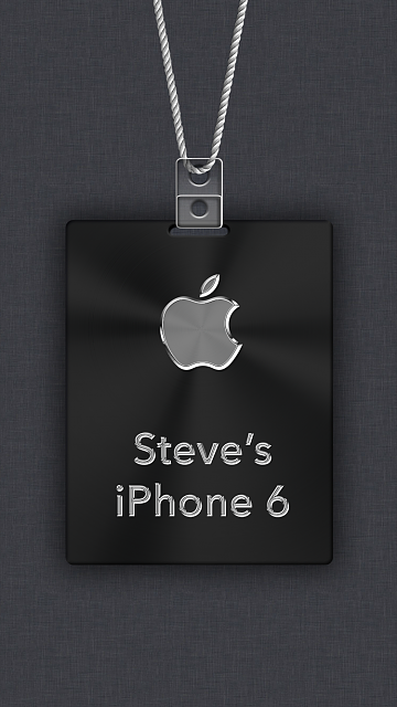 iPhone 6/6s/7 Apple Nametag Wallpaper-11.png