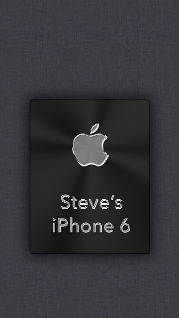 iPhone 6/6s/7 Apple Nametag Wallpaper-12.png