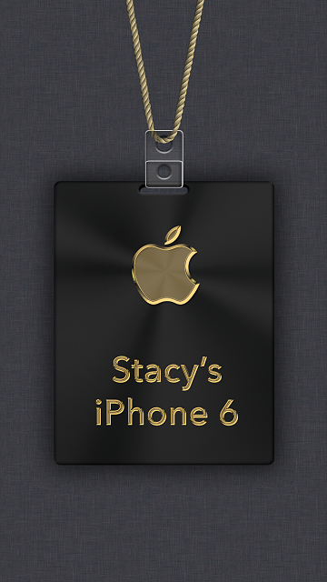 iPhone 6/6s/7 Apple Nametag Wallpaper-2.png