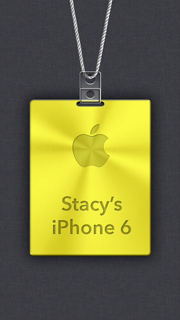 iPhone 6/6s/7 Apple Nametag Wallpaper-9.png