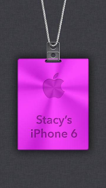 iPhone 6/6s/7 Apple Nametag Wallpaper-10.png