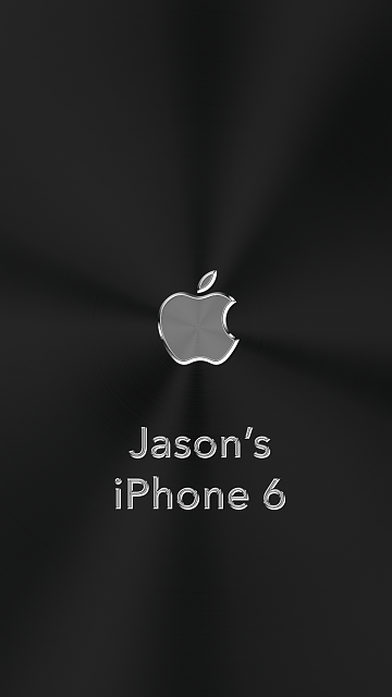 iPhone 6/6s/7 Apple Nametag Wallpaper-19.png