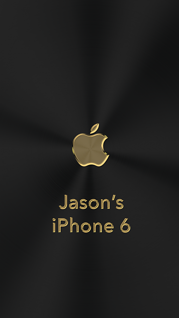 iPhone 6/6s/7 Apple Nametag Wallpaper-20.png