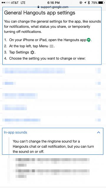 Hangouts notification sound - iPhone, iPad, iPod Forums at iMore com