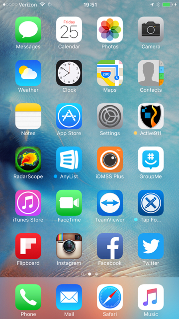 iphone 6 home screen your iphone 6s plus homescreen iphone ipod 14983