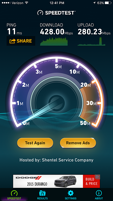 What's the fastest wifi speed you've seen on your 6s+?-img_3742.png