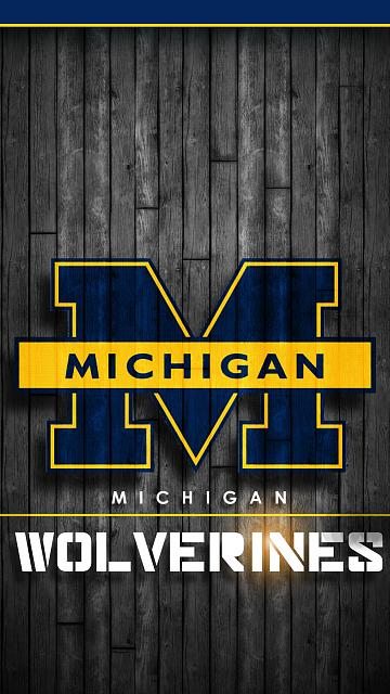 michigan wolverines wallpaper iphone