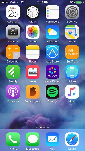 how to get ios home screen