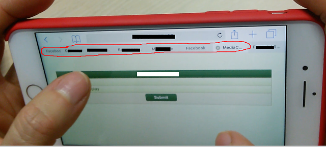 how to close all open tabs in safari iphone