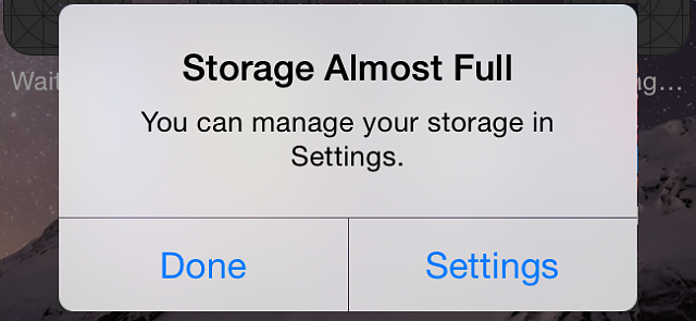 I just bought a 32gb iphone 7 and don't know If I made a mistake please reply!!!-iphone-storage-almost-full.png