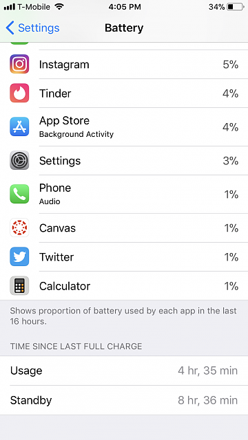How is your battery life with iOS 11.0.3 on iPhone 7?-img_3056.png