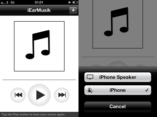 REQUEST: iPhone app that plays audio through the EAR SPEAKER?-20160118_010108000_ios.png