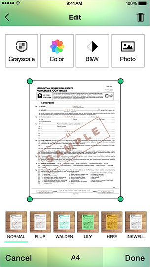 How to promote Arrowscan Document Scanner iPhone App-arrowscan2.png