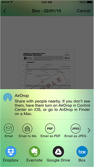 How to promote Arrowscan Document Scanner iPhone App-arrowscan-app1.png