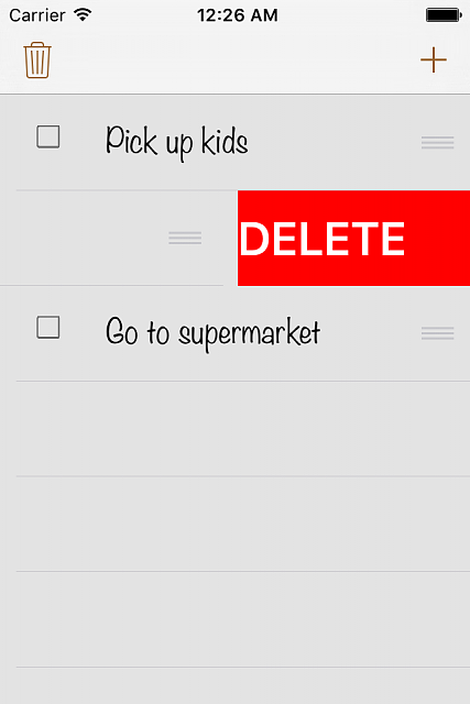 TinyChecklist - New productivity app (free):  (checklist, to do list, shopping list ...)-ip4_3.png