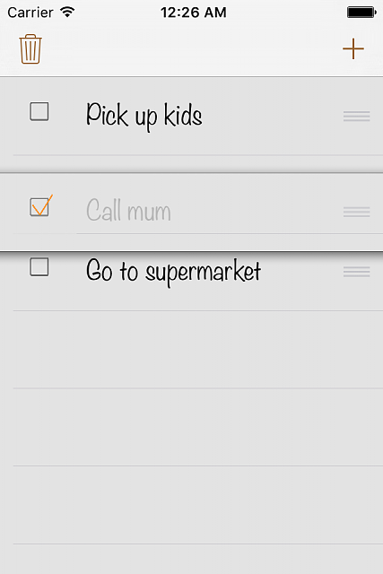TinyChecklist - New productivity app (free):  (checklist, to do list, shopping list ...)-ip4_4.png