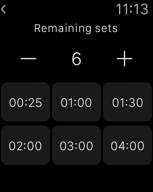 ChronoFit for iPhone and Apple Watch-simulator-screen-shot-22-f-vr.-2016-23.13.22.png