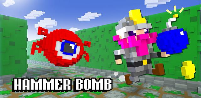 Hammer Bomb - 3d dungeon crawler meets Pac Man!-android-banner.jpg